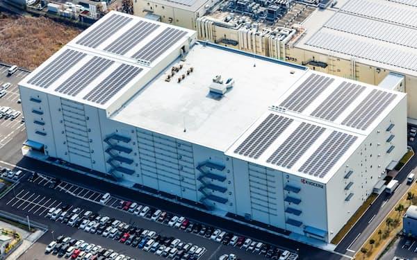 京セラは3年間で過去最大級の設備投資を計画する(鹿児島川内工場、鹿児島県薩摩川内市)