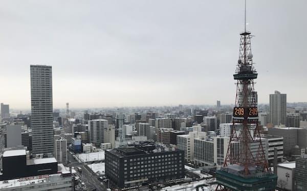 札幌駅周辺では再開発が相次いでいる