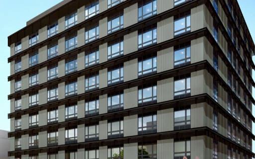 グリーンズが8日開業した「コンフォートホテル京都東寺」(京都市)