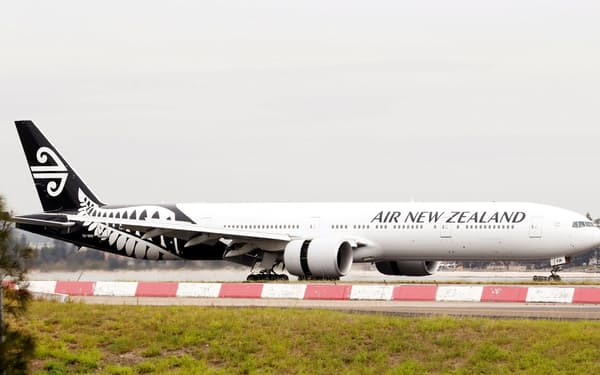 NZ航空は現金流出が改善すると期待を込める=ロイター