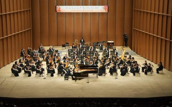 写真は2019年4月の前回の音楽祭「ロームミュージックフェスティバル2019」(ロームミュージックファンデーション提供)