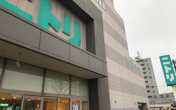 ニトリは北海道産品の中国輸出を進めている