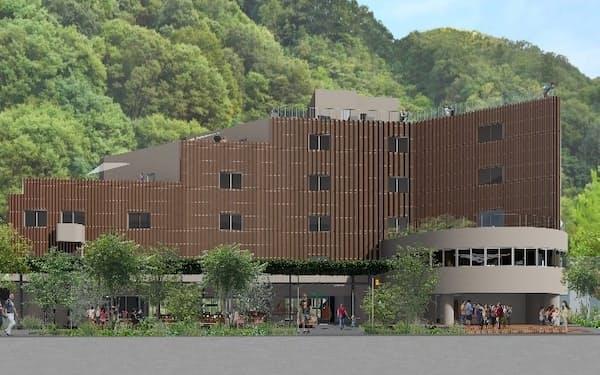 7月に開業予定の体験型ホテル「タカオネ」