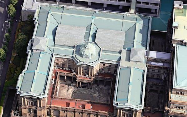マイナス金利の深掘りをにらんだ日銀の新制度が16日に運用開始に(東京・中央の日銀本店)