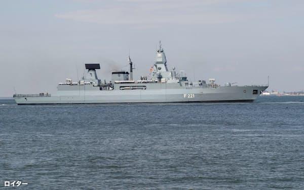 ドイツ海軍のフリゲート艦