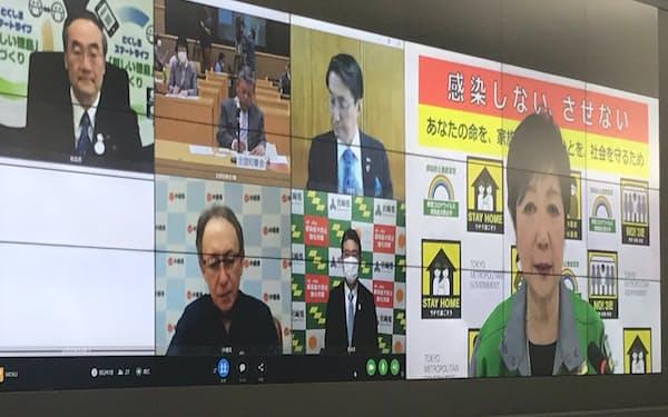 東京都の小池百合子知事は検査拡充などにも取り組む考えを示した