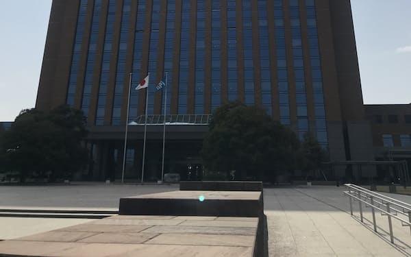 他の感染拡大地域との往来自粛も呼びかけた(石川県庁)