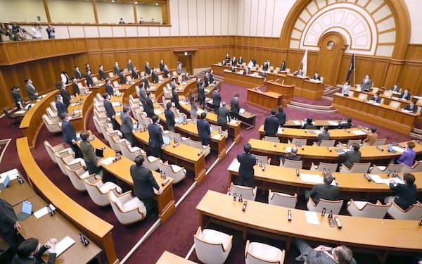 大阪府・市の広域行政を一元化する条例案を可決した大阪市議会(3月26日)