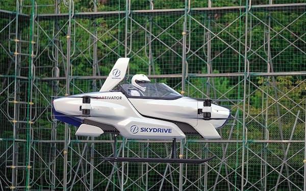 2020年8月、初披露した試験機「SD-03」で、公開有人飛行試験を成功させた