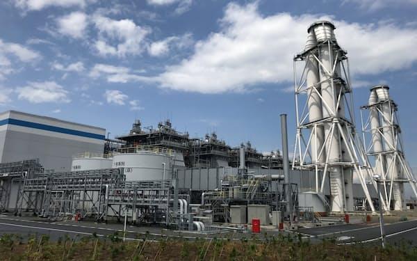 西名古屋火力発電所(愛知県飛島村)