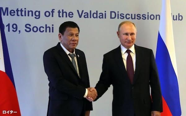 フィリピンにとってワクチン調達でロシアの協力が欠かせない(写真は2019年)=ロイター