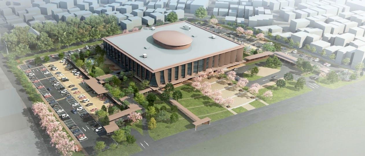 金沢大学工学部跡地に整備する新石川県立図書館