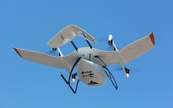ANAHDが輸送サービスのために導入する独ウイングコプター製のドローン