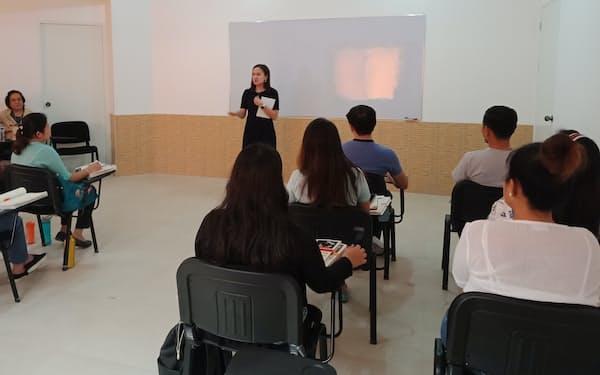 人手不足が深刻な介護業界にアジアの人材を紹介する(パーソルHDがフィリピンに構える研修施設)