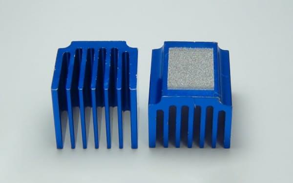 ダイセルミライズのレーザー加工を施したアルミ部品