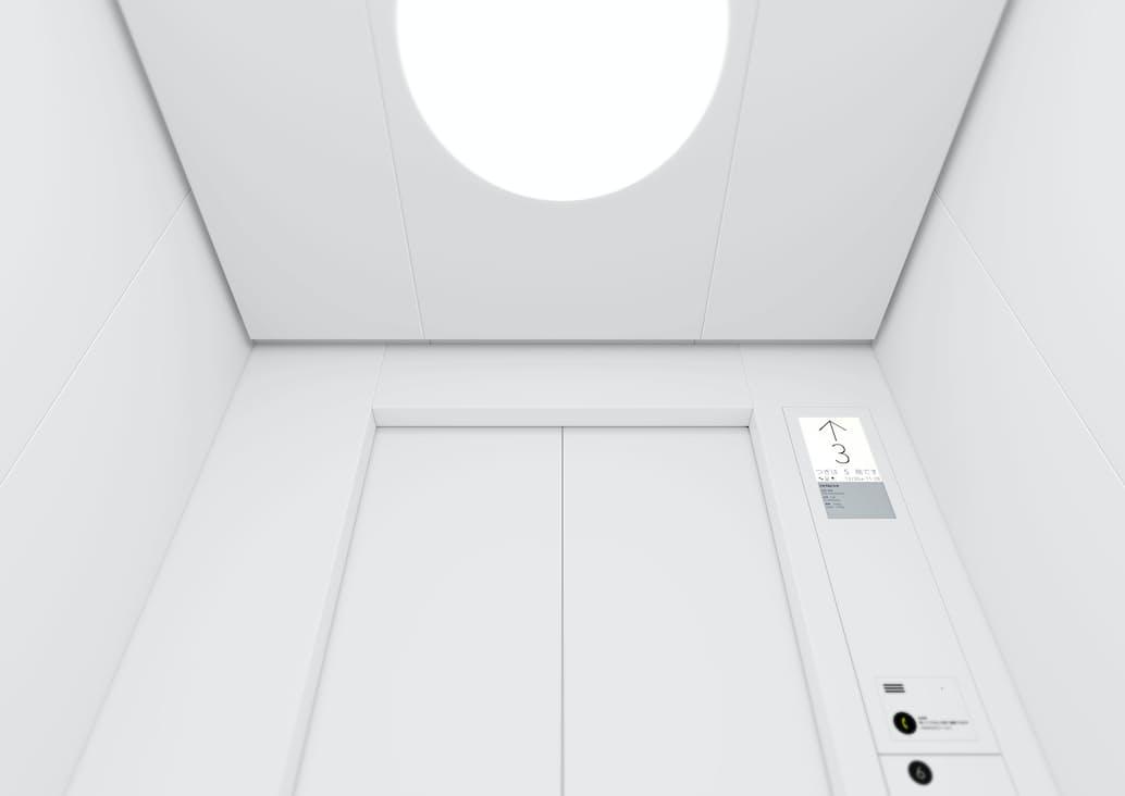 主力となる標準型エレベーターの刷新は7年ぶりとなる