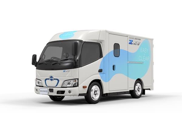 小型EVトラック「日野デュトロ Z EV」