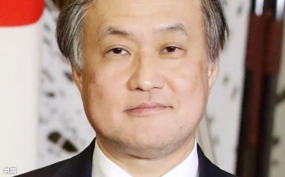 外務省の秋葉剛男事務次官