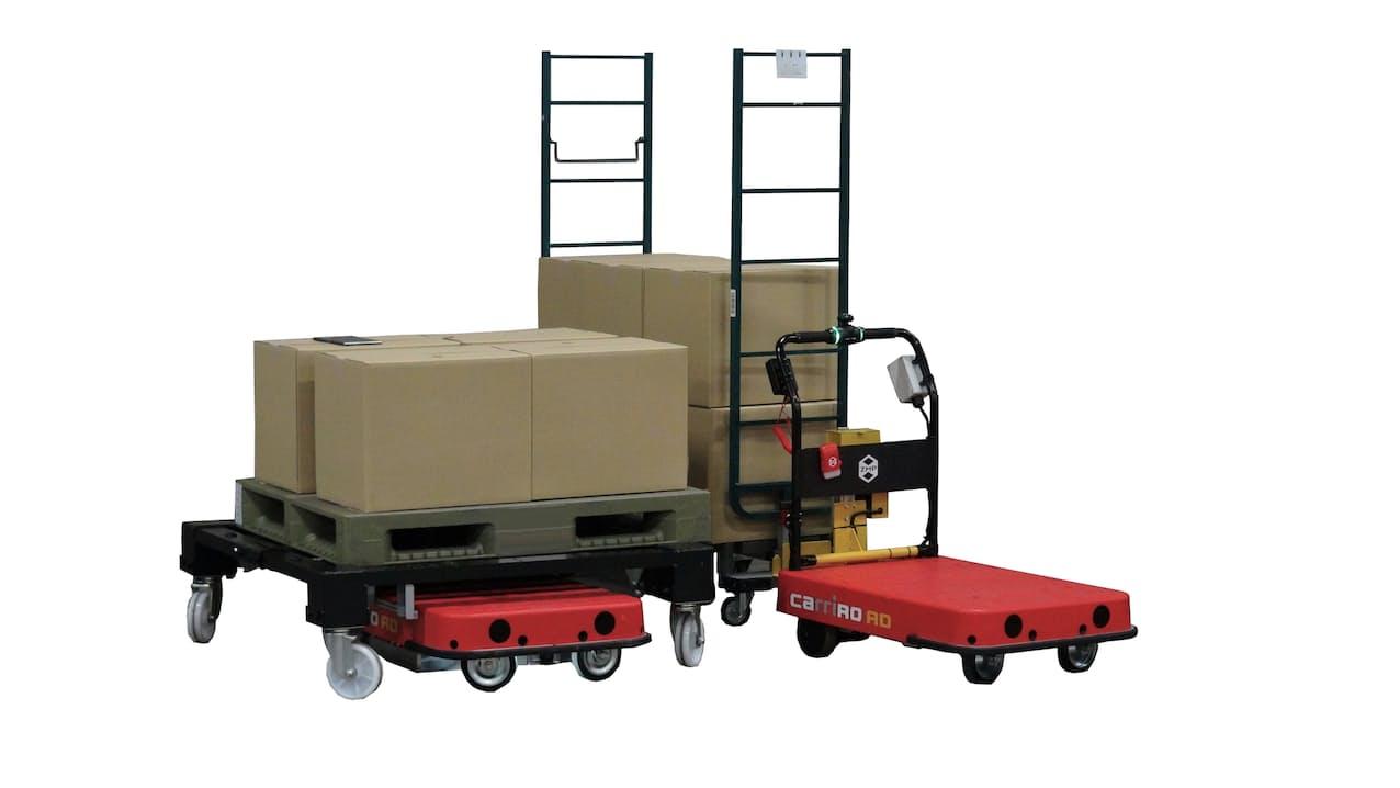 自動搬送ロボなどはクラウドで管理する