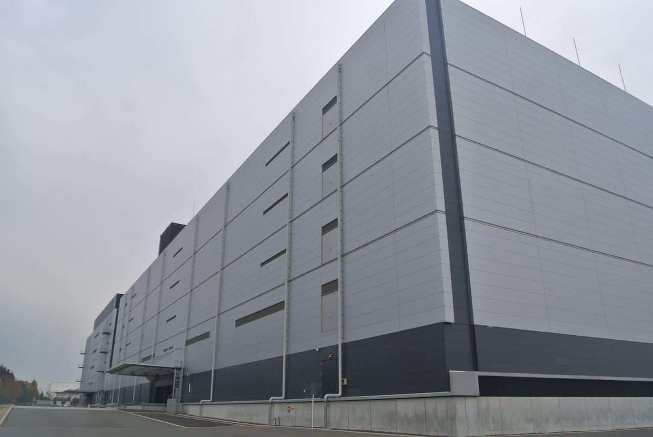 空調設備でAIを活用し消費電力の削減を急ぐ(群馬県館林市のデータセンター)