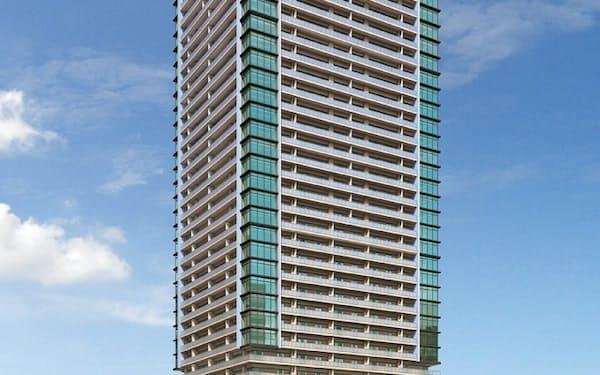 12月入居開始予定の「杜の街グレース岡山ザ・タワー」はすでに分譲住居が完売した