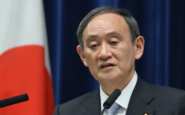 菅首相はバイデン米大統領との首脳会談後で、新たなパートナーシップを打ち上げる