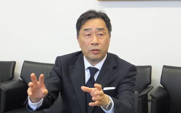 東京エレクトロンの河合利樹社長