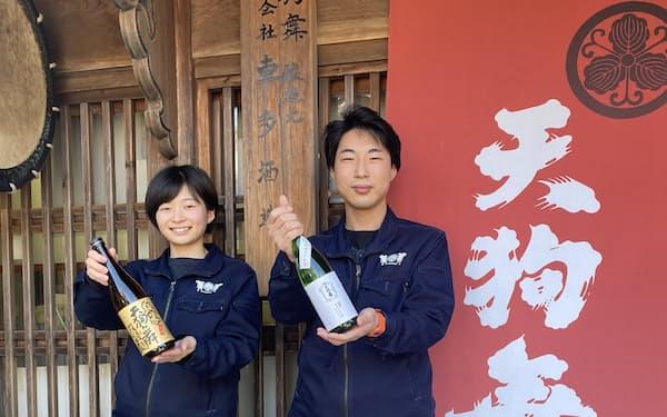 車多酒造では、入社3年以内の蔵人が若者に愛される酒づくりに挑戦(石川県白山市)