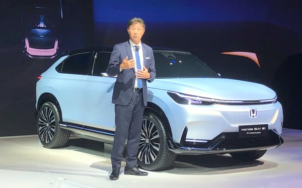 ホンダは中国で初の自社ブランドEVを投入する