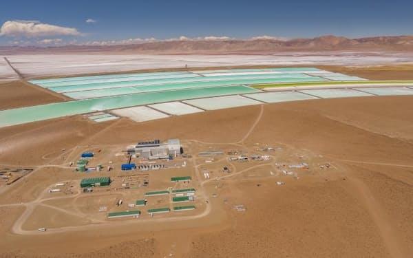 オロコブレはアルゼンチンで炭酸リチウムを生産する=同社提供