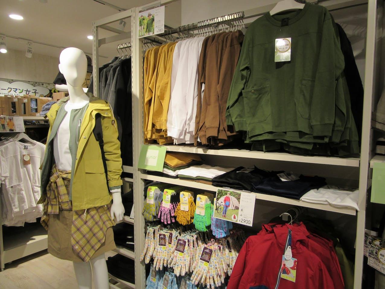 ワークマンはカジュアル衣料の「ワークマンプラス」が好調で業績が拡大している