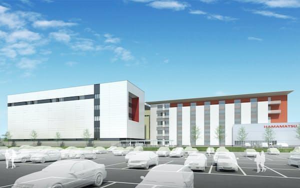 常光製作所の新棟(左側の建物、写真はイメージ)