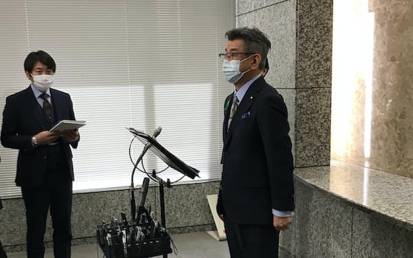 武田氏は6G開発での日米連携の意義を強調した(20日、東京・霞が関)