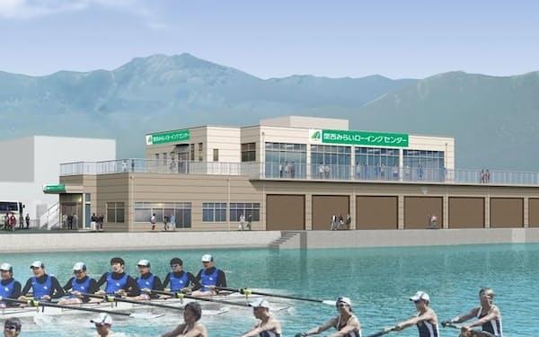関西みらい銀行の滋賀県内での知名度向上とスポーツ振興を図る
