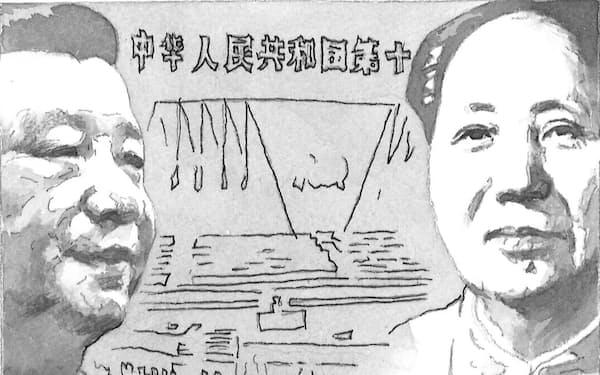 中国の指導者たちは、民主化は安定した社会秩序を保証しないと考えてきた イラスト・よしおか じゅんいち