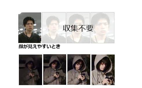 画像の鮮明さによって、顔認証に必要な枚数が異なる=NEC提供