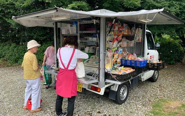 マックスバリュ西日本は移動スーパーの販売エリアを広げる