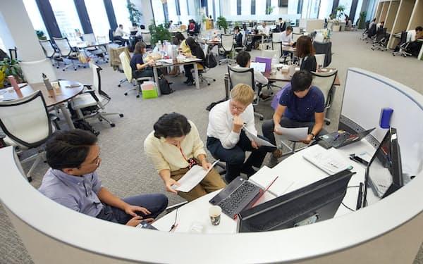シグマクシスのオフィス風景