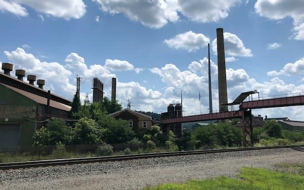 炭鉱や鉄鋼で栄えた町も変革を迫られる(オハイオ州)