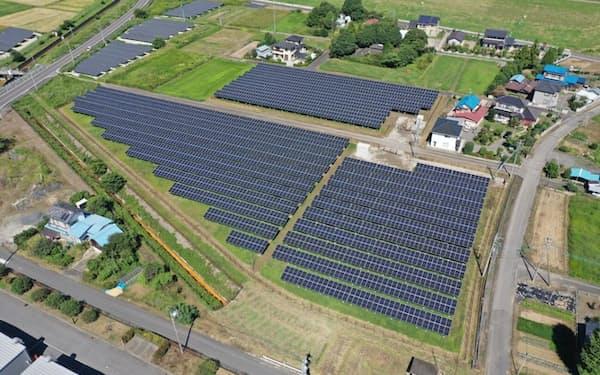 目標達成に向け太陽光発電の導入拡大が課題になる