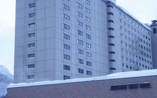 「定山渓ビューホテル」(札幌市)