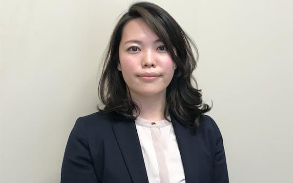 同志社大キャリアセンターの津田あゆ美氏