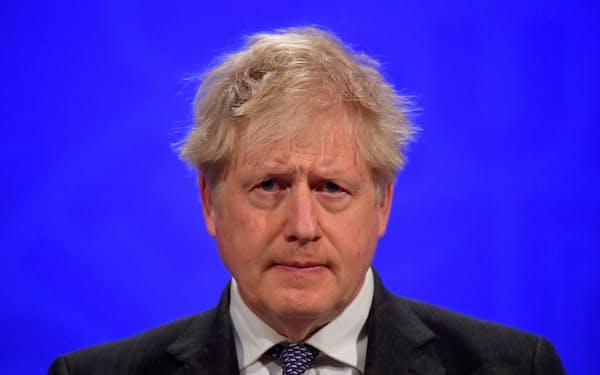 英国のジョンソン首相=ロイター