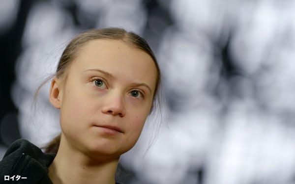 スウェーデンの環境活動家、グレタ・トゥンベリさんは「いつまでも責任を問われず、気候変動を無視し続けられると思うのか」と訴えた=ロイター