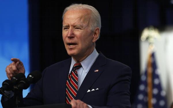 バイデン米大統領は富裕層増税を財源とする「米国家族計画」の構想を練る(ゲッティ=共同)