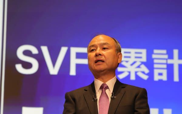ソフトバンクグループ(SBG)の孫正義会長兼社長は「ソフトバンク・ビジョン・ファンド(SVF)」を通じて投資を進める(写真は2019年11月、東京都中央区)
