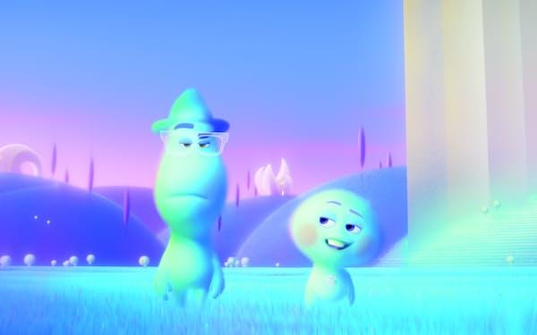 水中にいるような柔らかい映像が心地いい「ソウルフル・ワールド」© 2021 Disney/Pixar