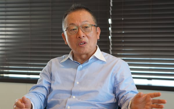 中村CEOはサプライチェーンの重要性を強調した