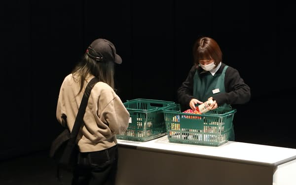 「事件」制作の過程として2月に春秋座で行われた実験公演=前谷 開撮影