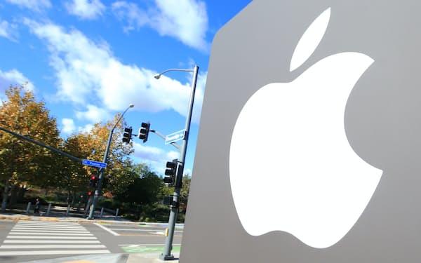 アップルパーク(2019年12月、米カリフォルニア州)